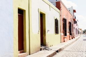 ¡Viva Mexico! Collection - Campeche Colorful Street II by Philippe Hugonnard
