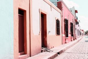 ¡Viva Mexico! Collection - Campeche Colorful Street IV by Philippe Hugonnard
