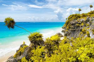 ¡Viva Mexico! Collection - Caribbean Coastline in Tulum II by Philippe Hugonnard