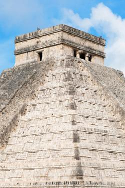 ¡Viva Mexico! Collection - Chichen Itza Pyramid II by Philippe Hugonnard