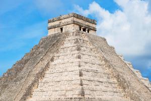 ¡Viva Mexico! Collection - Chichen Itza Pyramid by Philippe Hugonnard