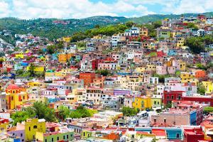 ¡Viva Mexico! Collection - Colorful Cityscape IX - Guanajuato by Philippe Hugonnard