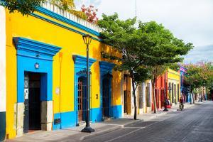 ¡Viva Mexico! Collection - Colorful Mexican Street II - Oaxaca by Philippe Hugonnard