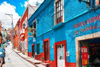 ¡Viva Mexico! Collection - Colorful Street - Guanajuato V by Philippe Hugonnard