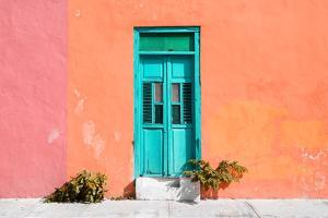 ¡Viva Mexico! Collection - Colorful Street Wall VIII by Philippe Hugonnard