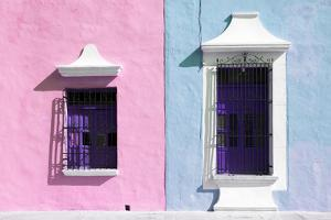 ¡Viva Mexico! Collection - Colors Houses in Campeche V by Philippe Hugonnard