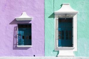 ¡Viva Mexico! Collection - Colors Houses in Campeche VI by Philippe Hugonnard
