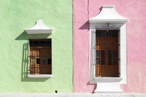 ¡Viva Mexico! Collection - Colors Houses in Campeche by Philippe Hugonnard