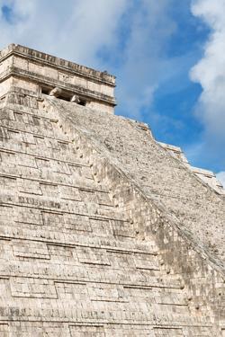 ¡Viva Mexico! Collection - El Castillo Pyramid - Chichen Itza II by Philippe Hugonnard