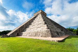 ¡Viva Mexico! Collection - El Castillo Pyramid - Chichen Itza III by Philippe Hugonnard