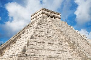 ¡Viva Mexico! Collection - El Castillo Pyramid - Chichen Itza by Philippe Hugonnard