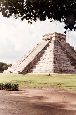 ?Viva Mexico! Collection - El Castillo Pyramid in Chichen Itza IX by Philippe Hugonnard