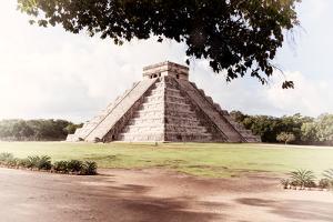 ¡Viva Mexico! Collection - El Castillo Pyramid in Chichen Itza VII by Philippe Hugonnard