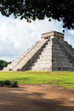 ¡Viva Mexico! Collection - El Castillo Pyramid in Chichen Itza VIII by Philippe Hugonnard