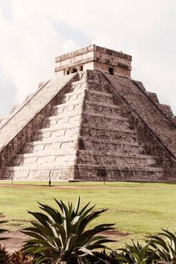 ¡Viva Mexico! Collection - El Castillo Pyramid in Chichen Itza XIII by Philippe Hugonnard