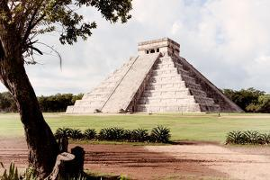 ¡Viva Mexico! Collection - El Castillo Pyramid in Chichen Itza XIX by Philippe Hugonnard