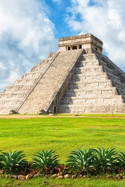 ¡Viva Mexico! Collection - El Castillo Pyramid in Chichen Itza XV by Philippe Hugonnard