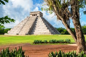 ¡Viva Mexico! Collection - El Castillo Pyramid in Chichen Itza XVI by Philippe Hugonnard