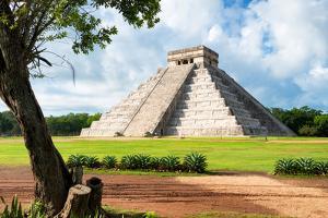 ¡Viva Mexico! Collection - El Castillo Pyramid in Chichen Itza XVIII by Philippe Hugonnard