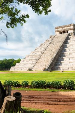 ¡Viva Mexico! Collection - El Castillo Pyramid in Chichen Itza XX by Philippe Hugonnard