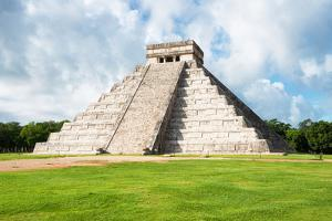 ¡Viva Mexico! Collection - El Castillo Pyramid in Chichen Itza XXI by Philippe Hugonnard