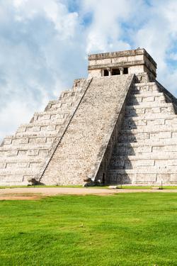 ¡Viva Mexico! Collection - El Castillo Pyramid in Chichen Itza XXII by Philippe Hugonnard