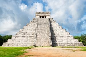 ¡Viva Mexico! Collection - El Castillo Pyramid in Chichen Itza XXIII by Philippe Hugonnard