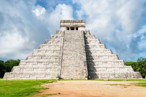 ¡Viva Mexico! Collection - El Castillo Pyramid in Chichen Itza XXIII by Philippe Hugonnard