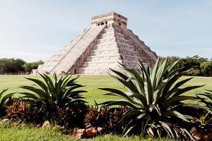 ¡Viva Mexico! Collection - El Castillo Pyramid of the Chichen Itza II by Philippe Hugonnard