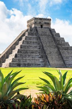 ¡Viva Mexico! Collection - El Castillo Pyramid of the Chichen Itza VI by Philippe Hugonnard