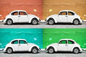 ¡Viva Mexico! Collection - Four VW Beetle Cars II by Philippe Hugonnard