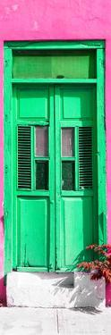 ¡Viva Mexico! Collection - Green Window and Pink Wall by Philippe Hugonnard