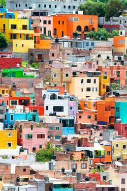 ¡Viva Mexico! Collection - Guanajuato - Colorful City XII by Philippe Hugonnard