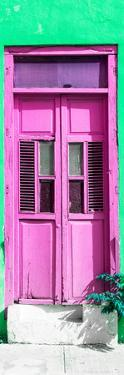¡Viva Mexico! Collection - Hot Pink Window and Green Wall by Philippe Hugonnard