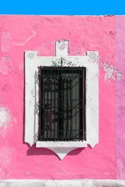 ¡Viva Mexico! Collection - Hot Pink Window - Campeche by Philippe Hugonnard
