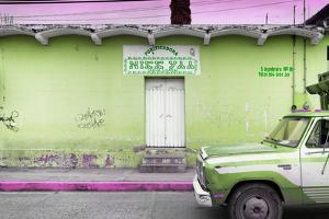 ¡Viva Mexico! Collection - Lime Green Truck by Philippe Hugonnard