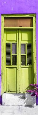 ¡Viva Mexico! Collection - Lime Green Window and Purple Wall by Philippe Hugonnard