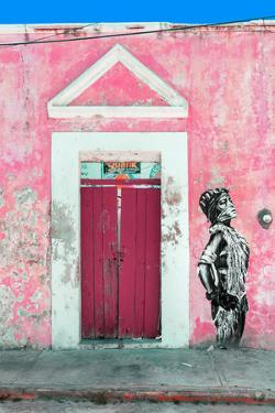 ?Viva Mexico! Collection - Main entrance Door Closed IX by Philippe Hugonnard