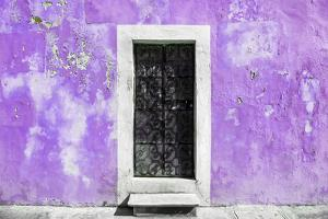 ¡Viva Mexico! Collection - Mauve Wall of Silence by Philippe Hugonnard