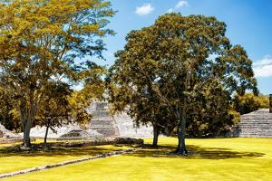 ¡Viva Mexico! Collection - Maya Archaeological Site with Fall Colors - Edzna Campeche by Philippe Hugonnard