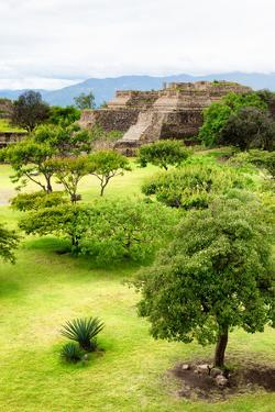 ¡Viva Mexico! Collection - Mayan Temple of Monte Alban II by Philippe Hugonnard