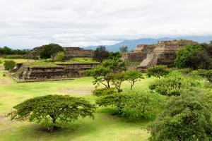 ¡Viva Mexico! Collection - Mayan Temple of Monte Alban by Philippe Hugonnard