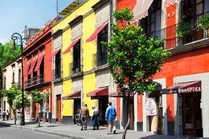 ¡Viva Mexico! Collection - Mexico City Colorful Facades by Philippe Hugonnard