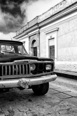¡Viva Mexico! Collection - Old Black Jeep and Colorful Street II by Philippe Hugonnard