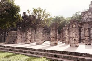 ¡Viva Mexico! Collection - One Thousand Mayan Columns IV - Chichen Itza by Philippe Hugonnard