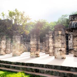 ¡Viva Mexico! Collection - One Thousand Mayan Columns V - Chichen Itza by Philippe Hugonnard