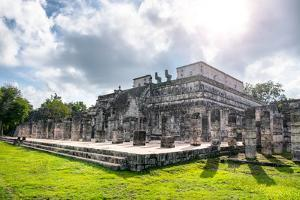 ¡Viva Mexico! Collection - One Thousand Mayan Columns VI - Chichen Itza by Philippe Hugonnard