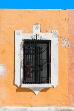 ¡Viva Mexico! Collection - Orange Window - Campeche by Philippe Hugonnard