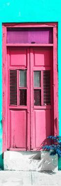 ¡Viva Mexico! Collection - Pink Window and Turquoise Wall by Philippe Hugonnard