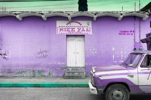 ¡Viva Mexico! Collection - Purple Truck by Philippe Hugonnard